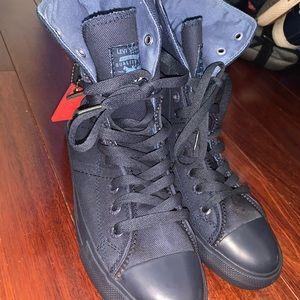 Levi's Navy Blue Hightop Sneakers